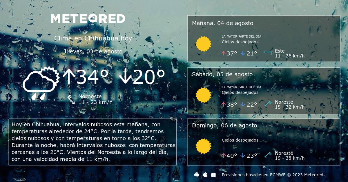 L Clima Chihuahua Clima en Chihua...