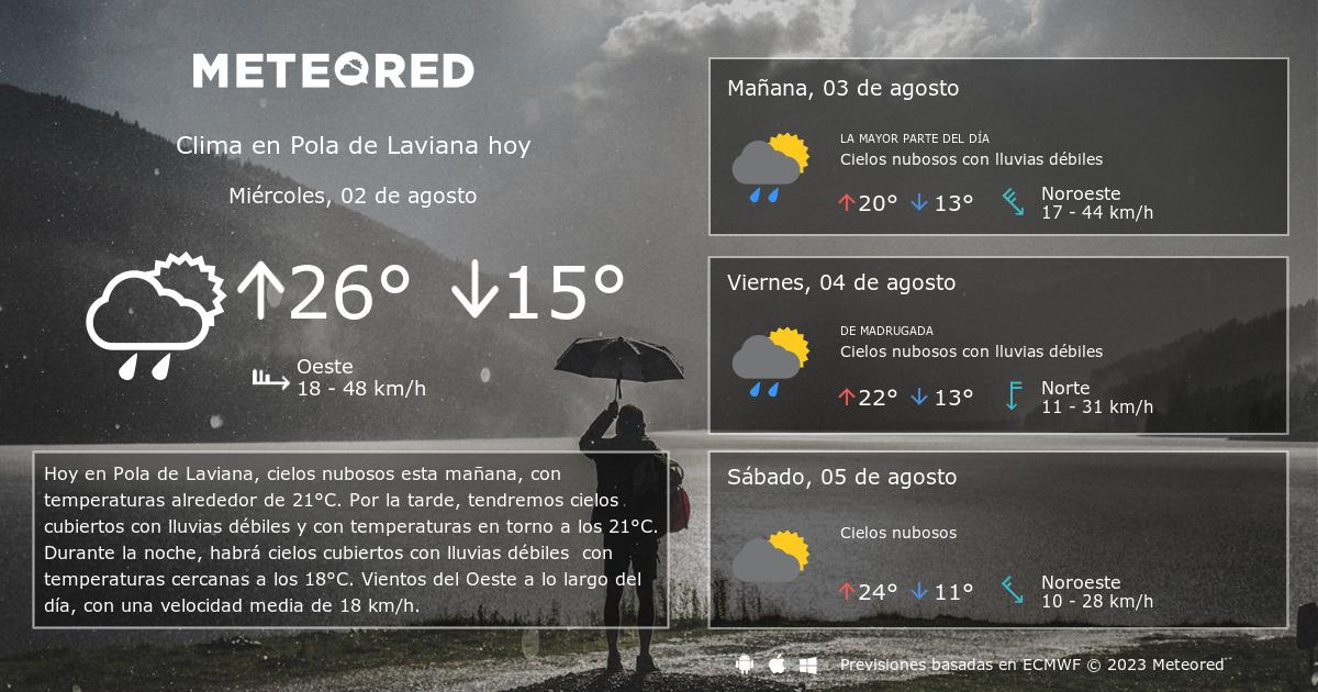Clima En Pola De Laviana El Tiempo A 14 Días Meteoredmx
