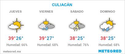 EL CLIMA EN CULIACÁN