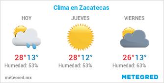 Clima en Zacatecas